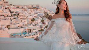 希腊圣托里尼梦幻婚礼